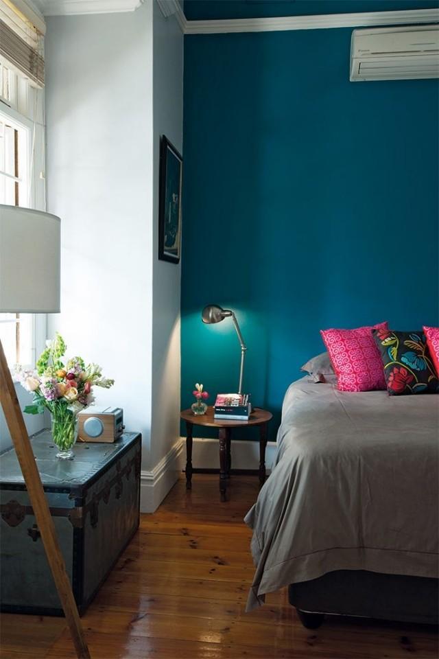 azul añil color paredes cuarto