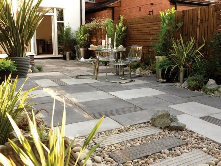 Azulejos baldosas y losas para el suelo de tu jard n - Loseta para jardin ...