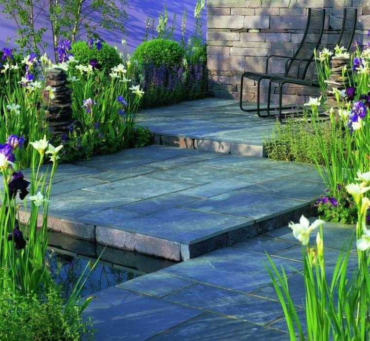 azulejos baldosas jardin plantas espacios natural ideas bonitas