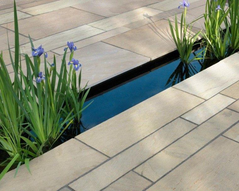 azulejos baldosas lugares agua jardin plantas acuaticas ideas
