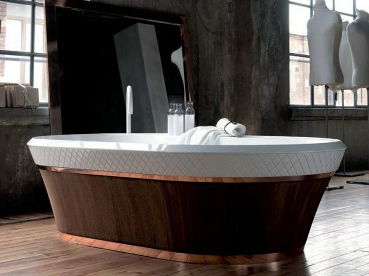 bañera falper muebles baño madera