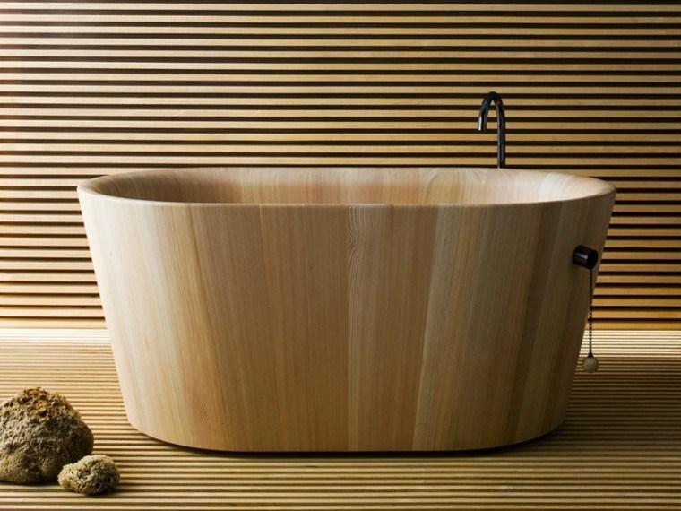 bañera laminada modelo rapsel madera
