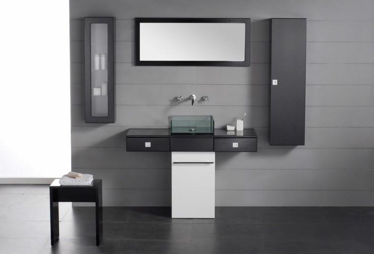 Muebles ba o el lujo y el placer de la intimidad for Muebles estilo moderno minimalista