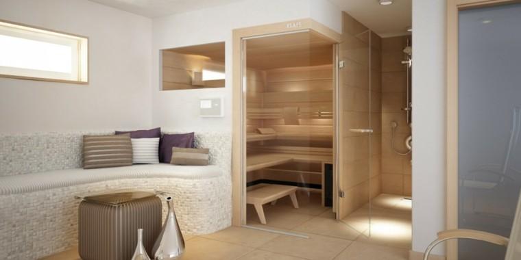 Cabinas De Baño Sauna:Cabina de madera con baño de vapor