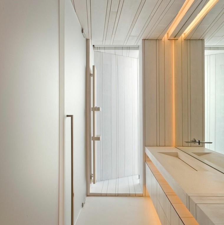 bano precioso estilo minimalista casa Sardinera ideas