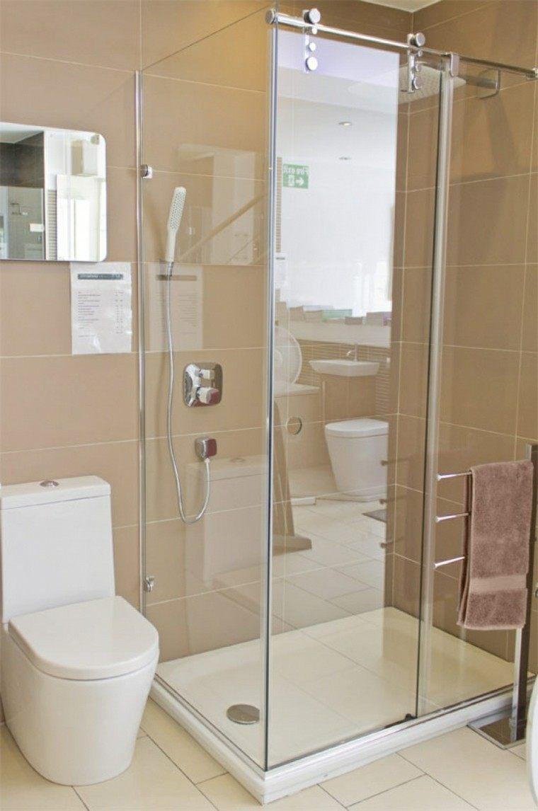 Cuartos de ba o con ducha y ba era muy singulares for Ideas para banos con ducha