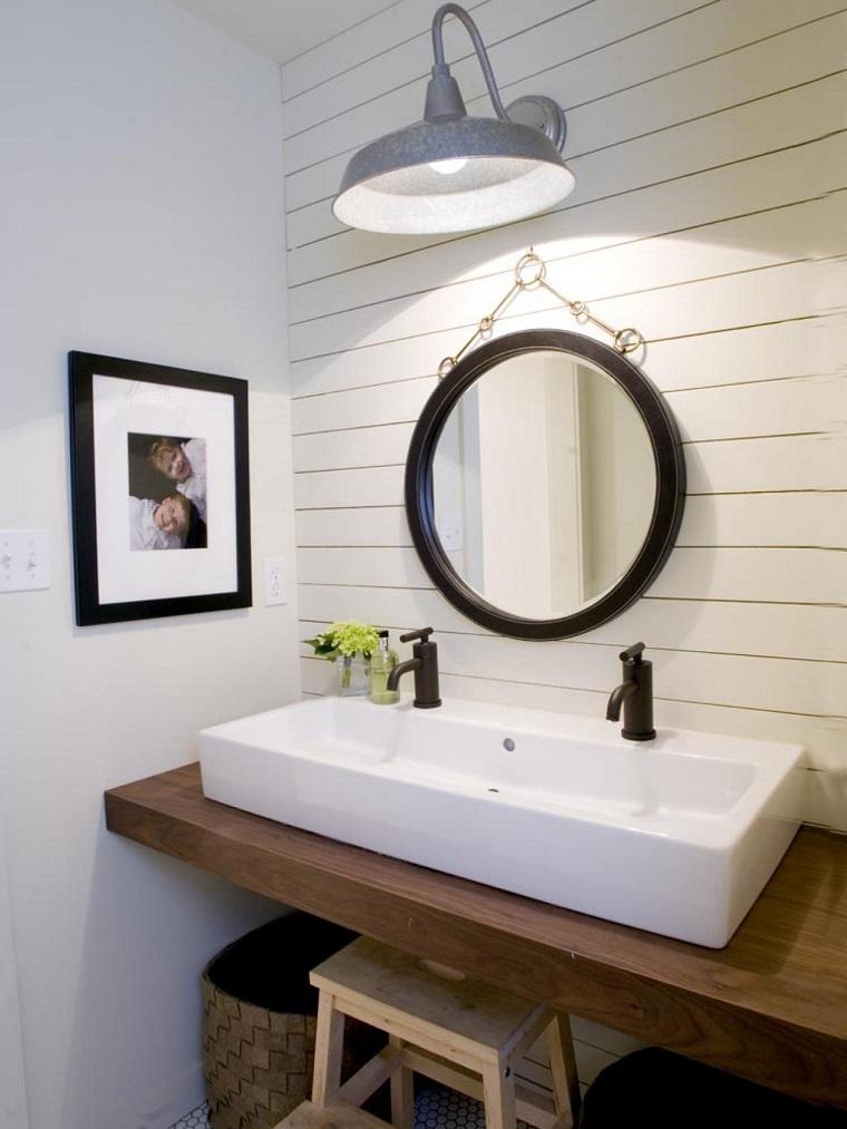 baños pequeños modernos lavabo foto decorativa ideas