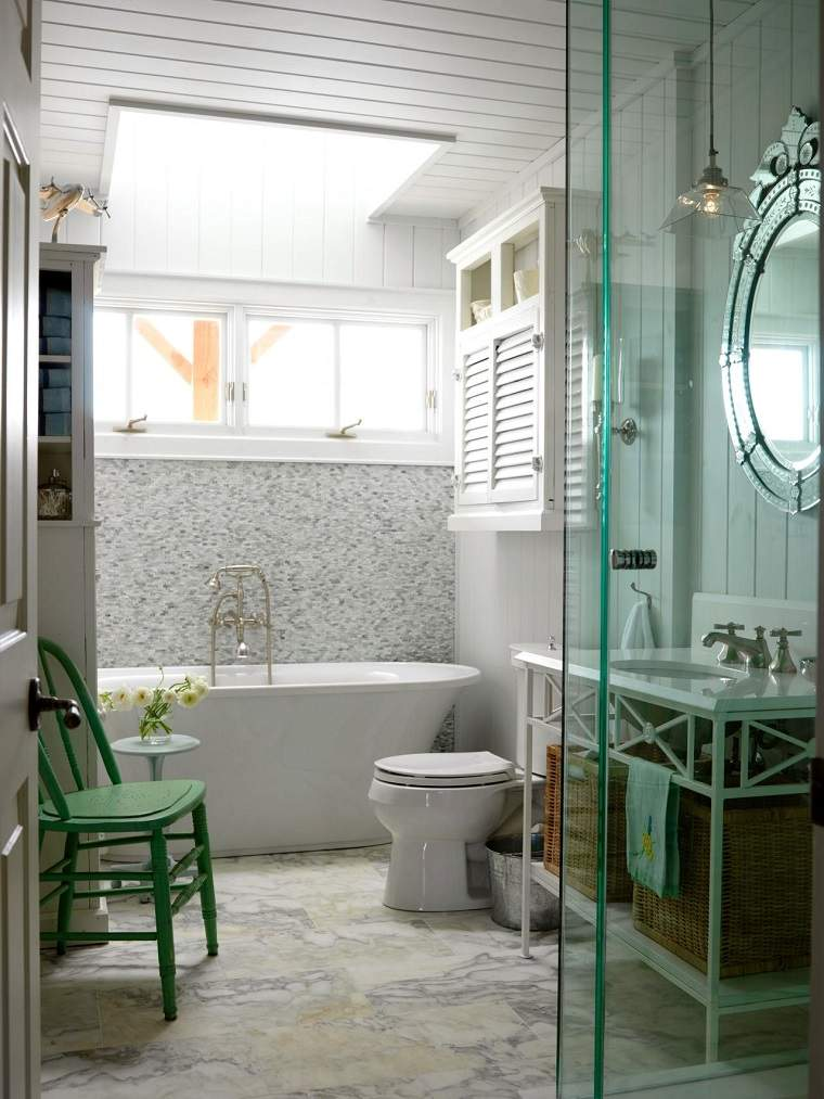 Ba os peque os modernos con decoraci nes originales Sample design of small bathroom