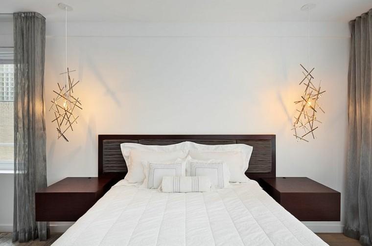 belleza lineas simples dormitorio diseno escandinavo moderno