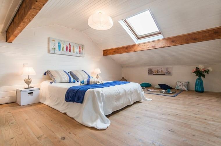 belleza paredes suelo madera dormitorio diseno escandinavo moderno