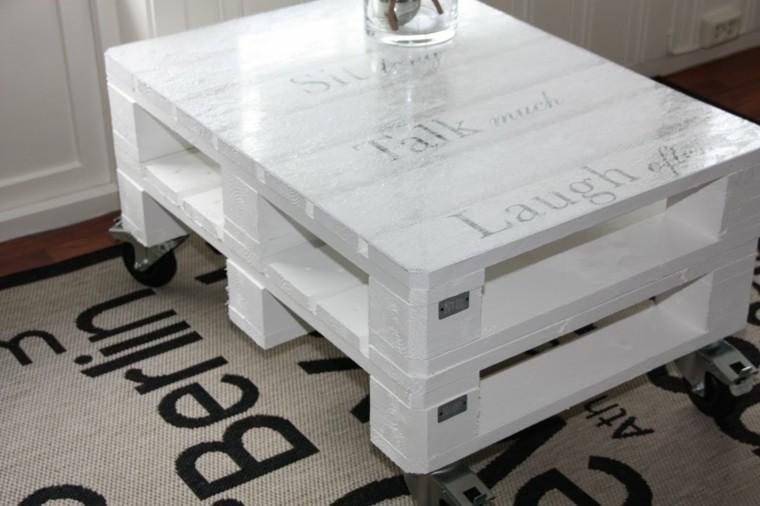 blanco auxiliar mesa alfombra ruedas