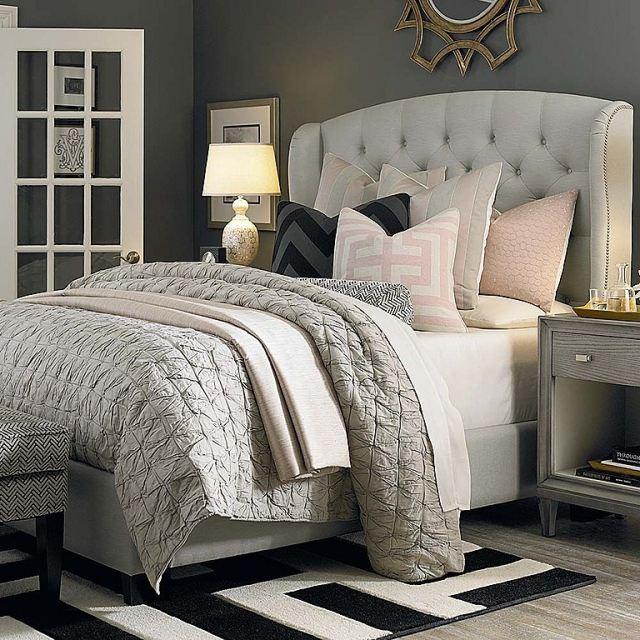 Paleta de colores para el dormitorio es hora de un cambio for Chambre grise et taupe