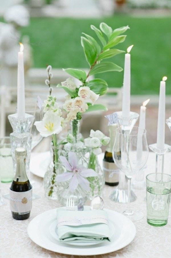 bonita mesa decoracion clasica