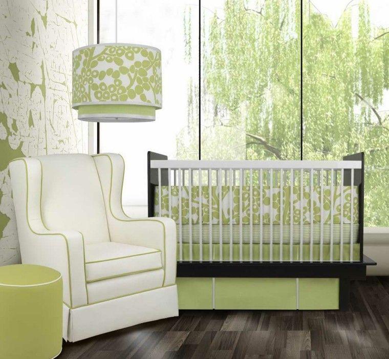 bonito dormitorio verde bebe cuna hoy veremos veinticinco formas para decorar habitacion with ideas decoracion habitacion bebe