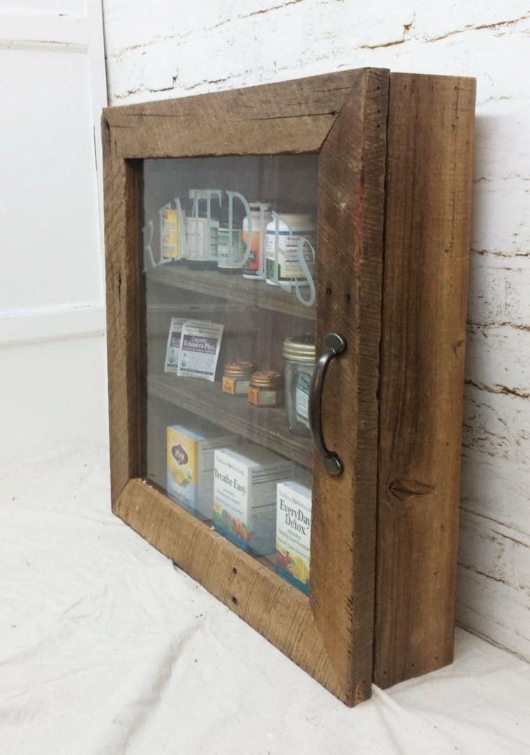 Botiquin Para Baño En Madera:botiquin medicamentos baño pared pequeño