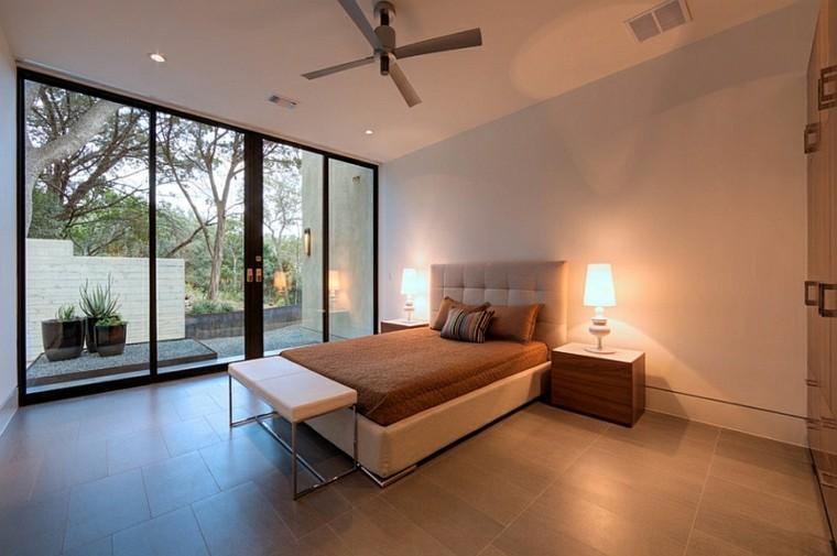 cabecero cama etilo minimalista luminosa ideas