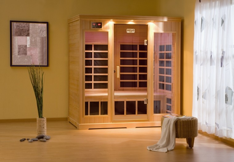 sauna y centro de spa personalizado en su propia casa. Black Bedroom Furniture Sets. Home Design Ideas
