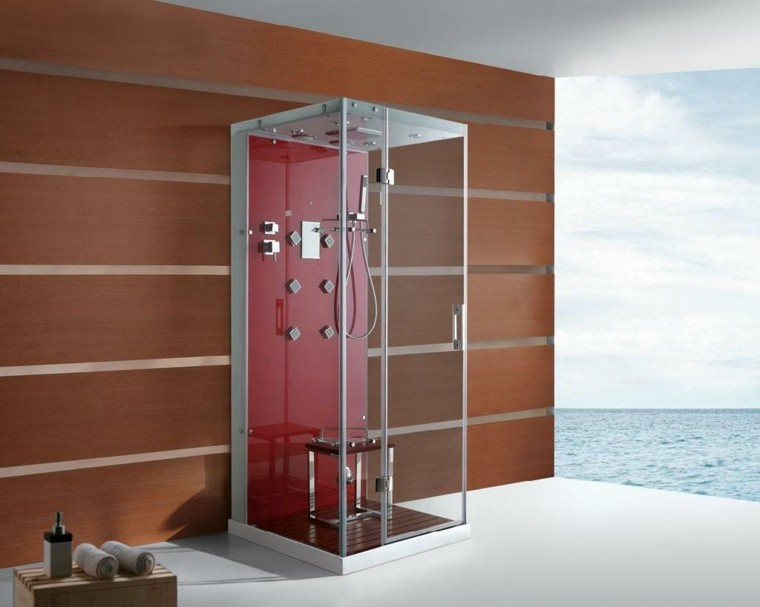 Cabinas De Baño Pequenas:Cabinas de saunas en casa