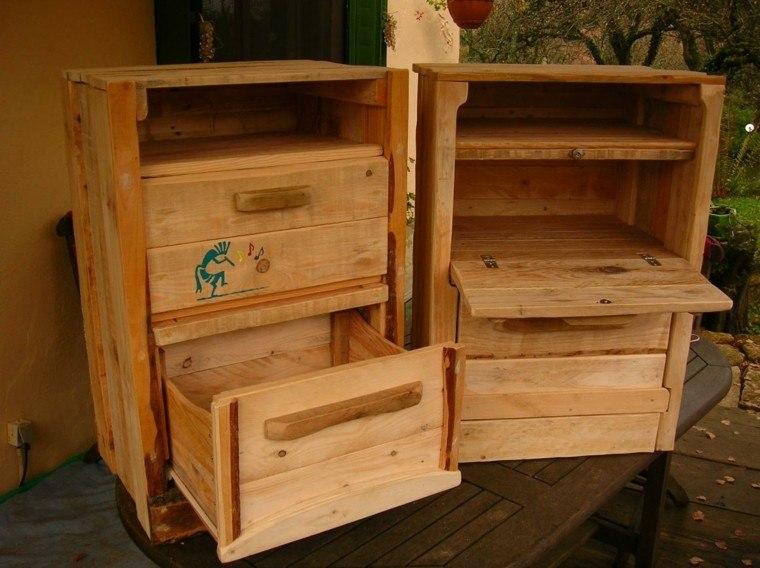 Muebles hechos con palets 100 ideas para el hogar for Sillones de cocina