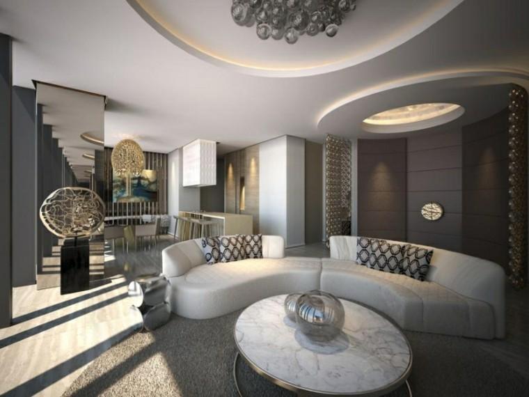 calidad lujo mesa marmol salon moderno ideas
