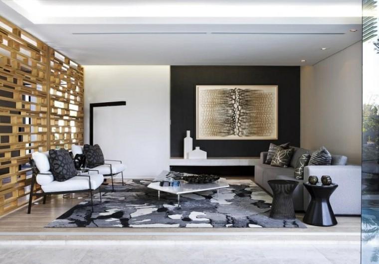 muebles salon moderno bonitos amplio ideas