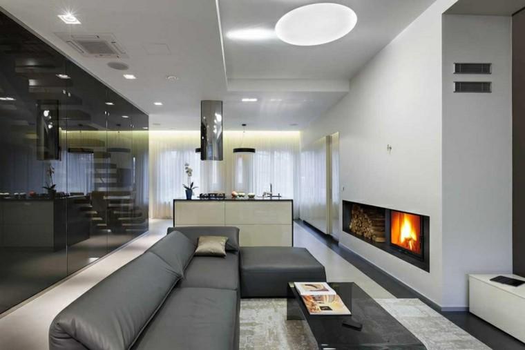 calidad y diseo simple muy singular para el saln moderno muebles with muebles de salon modernos de diseo