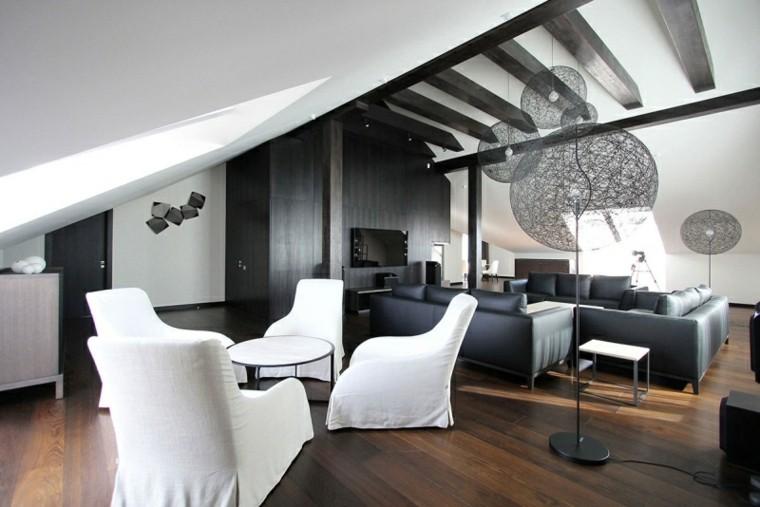 calidad muebles salon moderno sofas cuero negro ideas