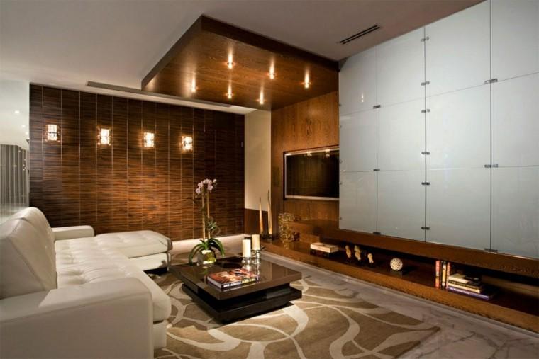 calidad salon sofa cuero blanco lujo ideas