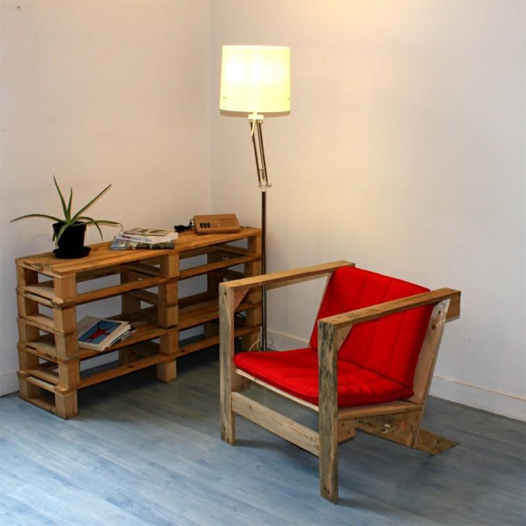 calido madera lampara maceta funcional