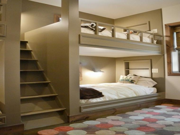 Camas dise o ahorro de espacio y m s para la habitaci n - Ikea cama alta ...