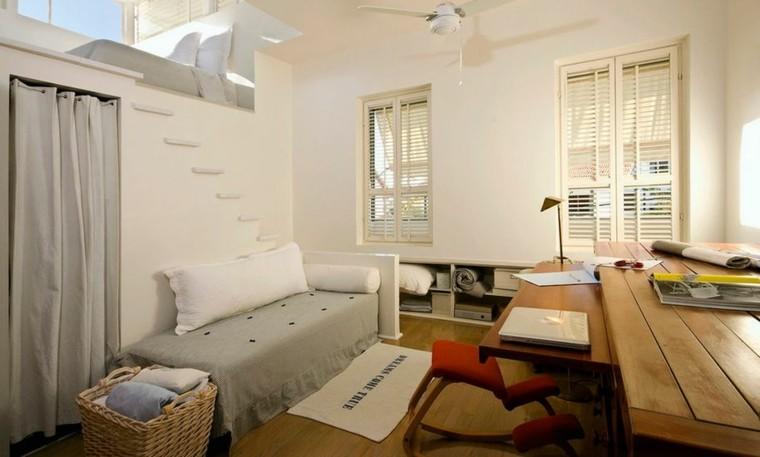 camas diseño habitacion infantil luz natural
