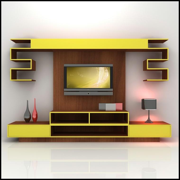 centro ocio color amarillo moderno