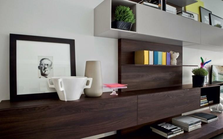 Muebles de salon modernos y funcionales: menos es más
