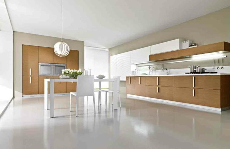 Mesas De Cocina Modernas Practicas Y Funcionales - Cocinas-practicas-y-modernas