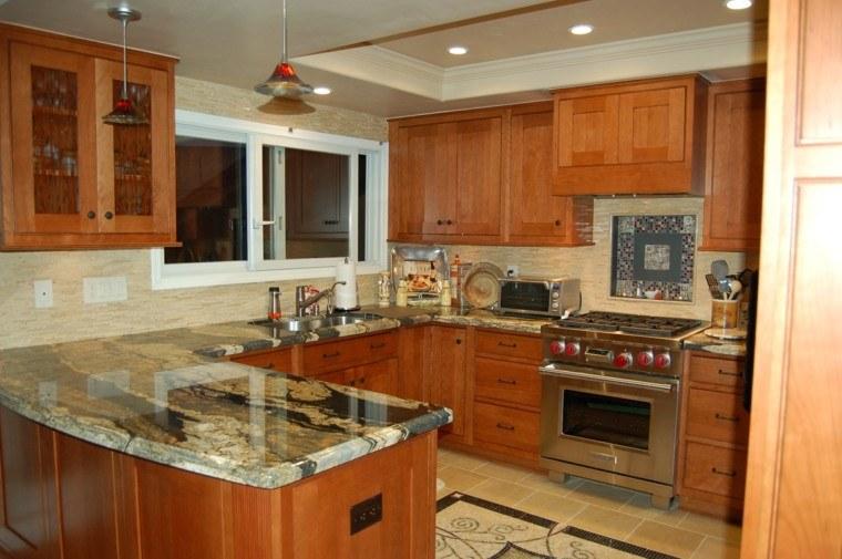 Cubiertas topes encimeras cocina granito marmol marmol for Encimera cocina marmol o granito