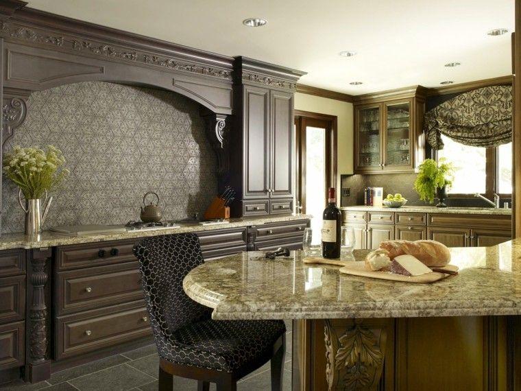 Encimeras de cocina de m rmol elegancia y estilo atemporal - Encimera marmol ...
