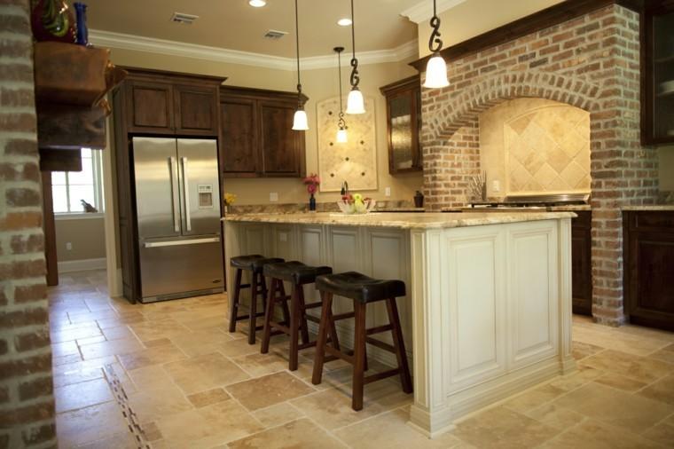 Blanco y madera - Cincuenta ideas para decorar tu cocina