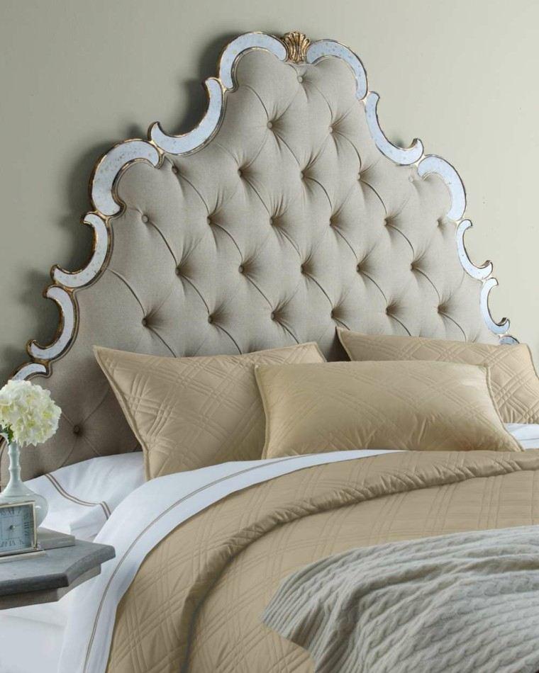 color crema ropa cama cabecero original ideas