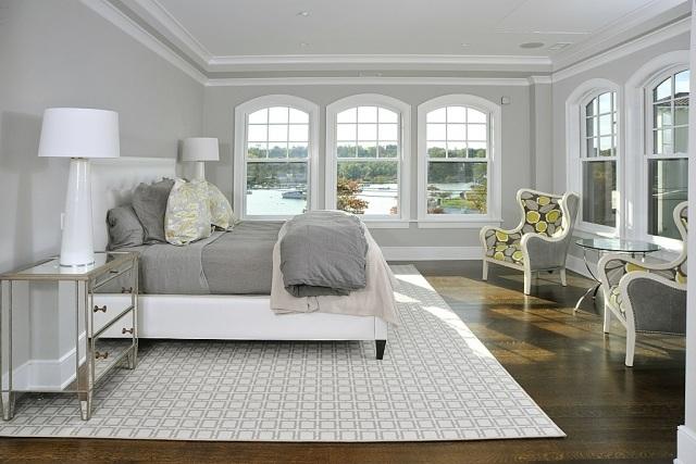 Paleta de colores para el dormitorio es hora de un cambio for Cuarto gris con blanco