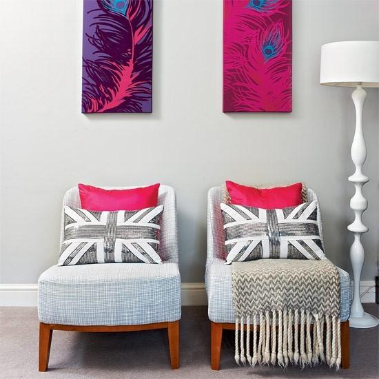 colores neutrales pared muebles ideas cuadros modernas