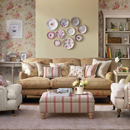 colores paste pastel sofa platos decoran pared cojines ideas