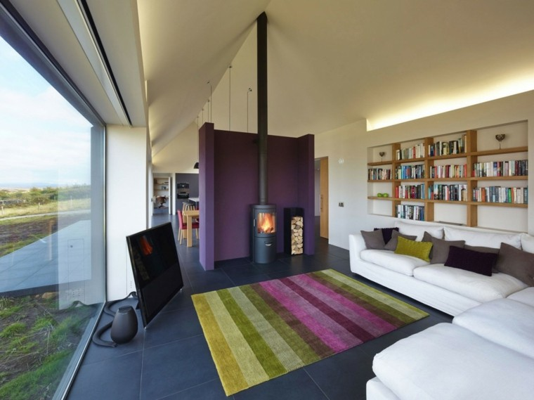 colorida casa diseño moderno alfombra