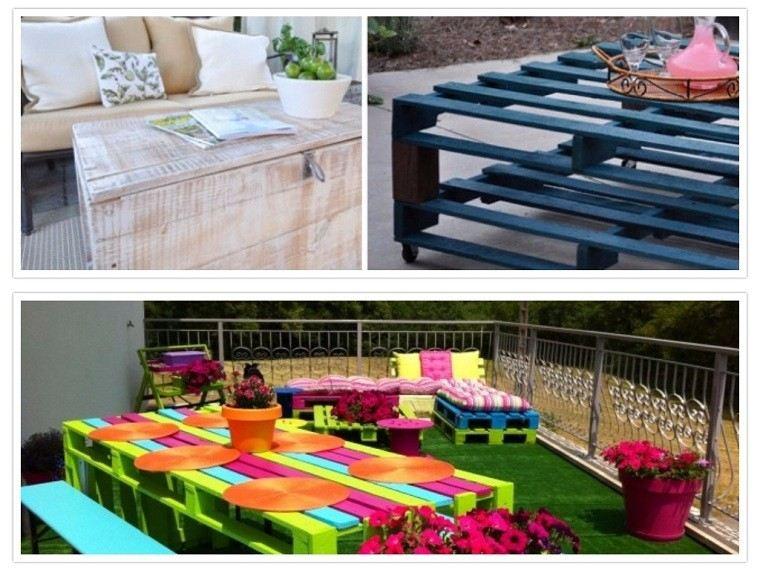 colorido macetas flores patio vivo terraza