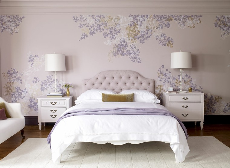 Combinaciones de colores para las paredes del dormitorio - Colores claros para habitaciones ...