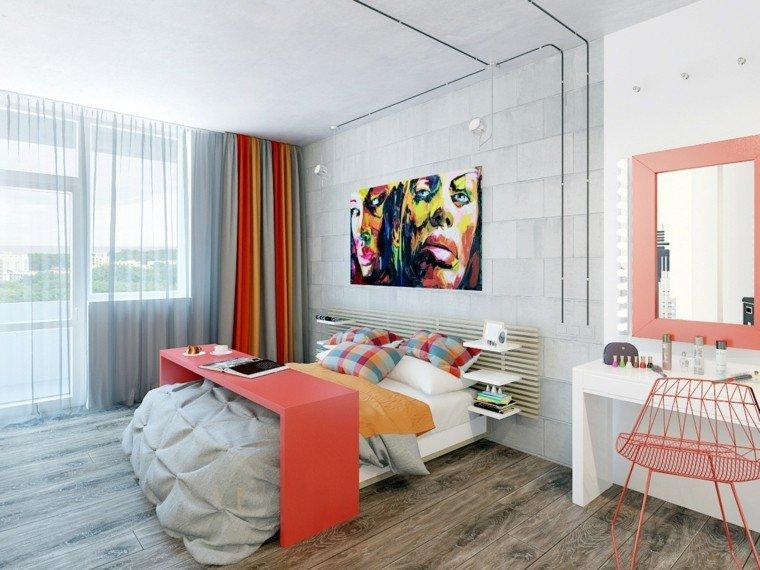 combinaciones de colores dormitorio ideas preciosas modernas
