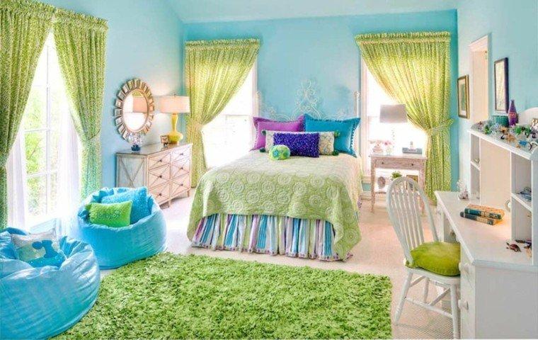 Combinaciones de colores para las paredes del dormitorio - Interactive images of purple kid bedroom design and decoration ...