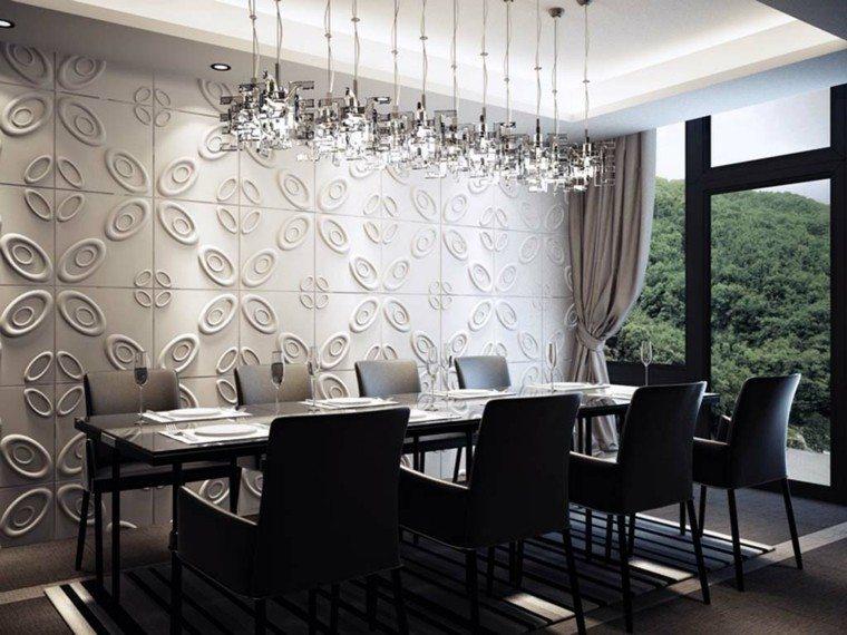 decoracion paredes estilo y mucho m s para el hogar On papel pared comedor