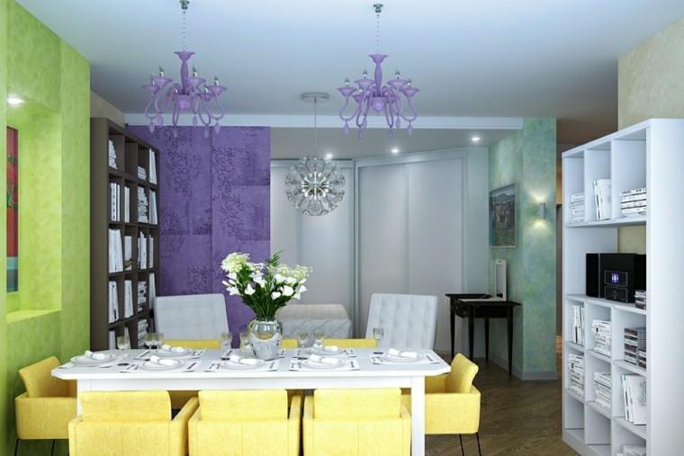 comedor moderno muebles amarillo claro