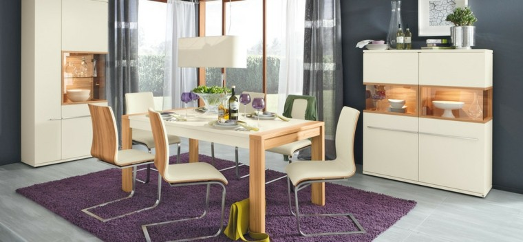 Sillas de comedor modernas cincuenta ideas geniales for Disenos de muebles de comedor modernos