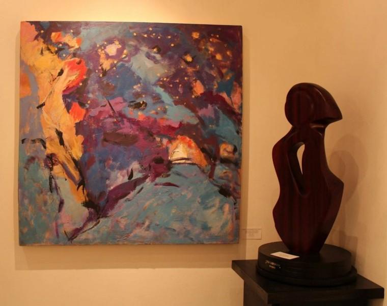cuadro abstracto decoracion paredes
